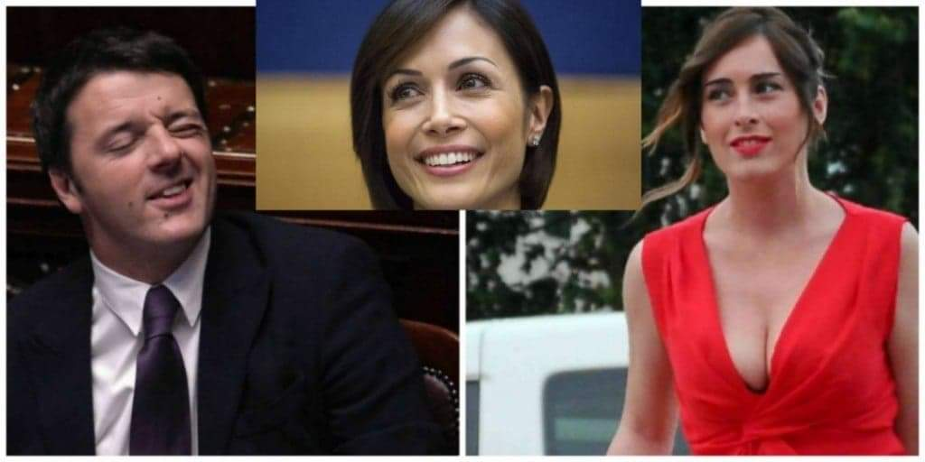 Renzi, Carfagna e Boschi