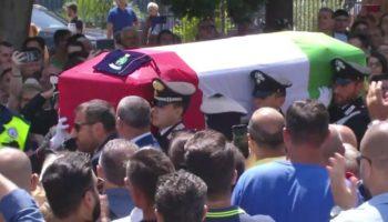 Funerali MarioCerciello Rega