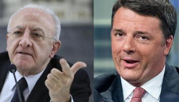 De luca Renzi Italia Viva