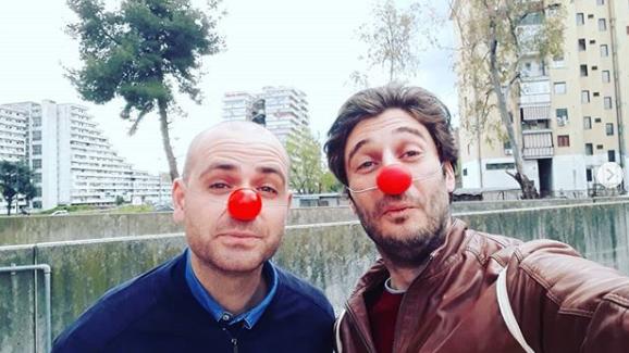 Lino Guanciale ludoteca Scampia