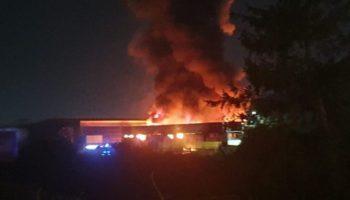 incendio a Sarno