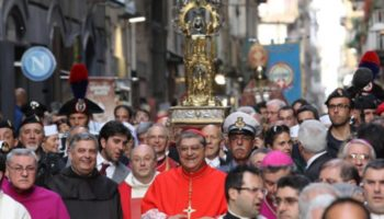 Napoli, annullata la processione di San Gennaro