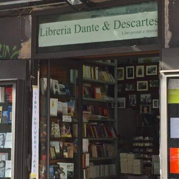 furto libreria Dante&descartes