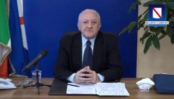 Conferenza De Luca