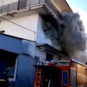Incendio Arzano