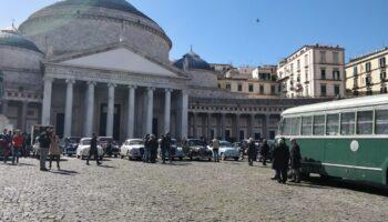 Napoli set a cielo aperto
