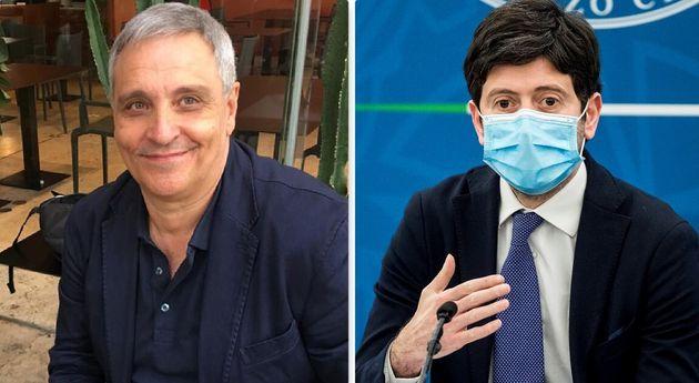 Maurizio De Giovanni lancia un appello in difesa del ministro Speranza