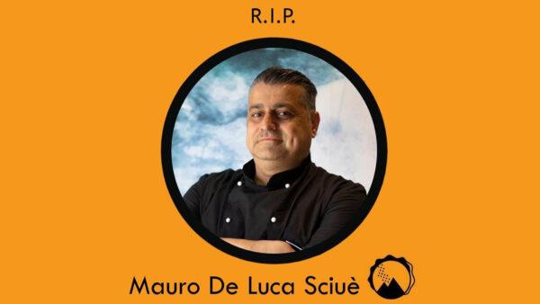 Pomigliano, morto Mauro de Luca, proprietario del panino vesuviano Sciuè