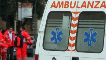ambulanza fiumeri ustione