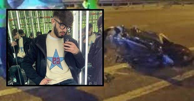 Tragico incidente nel napoletano: Davide perde la vita a 20 anni
